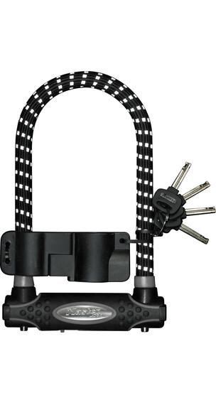 Masterlock 8195 Bügelschloss 13 mm x 210 mm x 110 mm schwarz/reflex